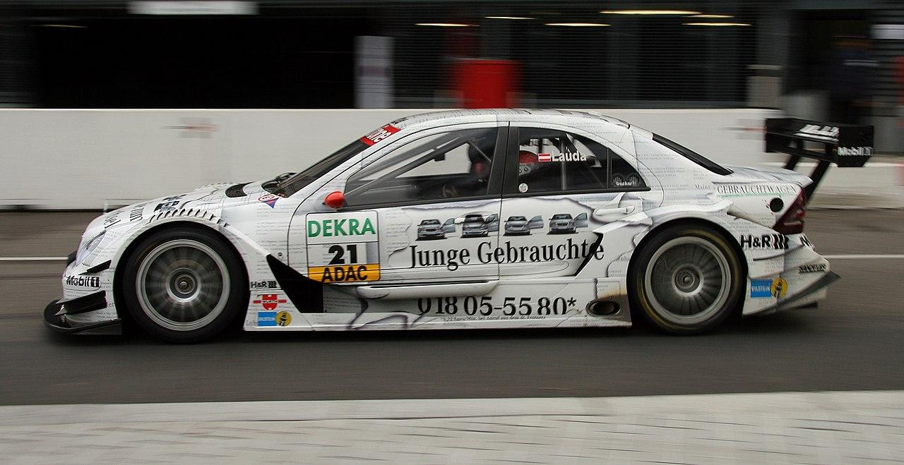File:DTM car mercedes2006 Lauda.jpg - Wikimedia Commons