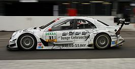 Mathias Lauda in de DTM 2006