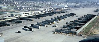 Da Nang Air Base - Da Nang AB in the late 1960s