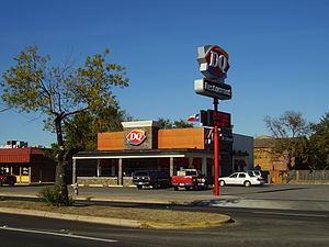 English: Dairy Queen in Austin, Texas