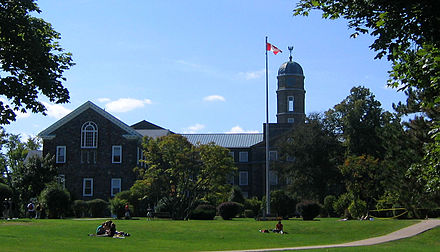 Halifax is home to Dalhousie University. Established in 1818, it is the oldest English-language post-secondary institution in Canada. Dalhousie U 1.jpg