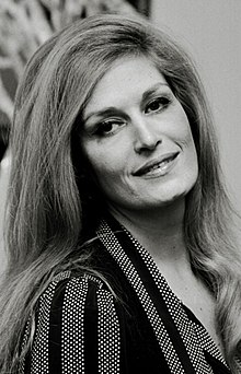 Promotional picture of Dalida taken in 1971.