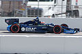Dallara-Chevrolet DW12 KV-BMC Racing Ruebens Barrichello Qualifying SPGP 24March2012 (14719572283).jpg