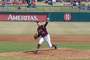 Dallas Keuchel - Keuchel pitching for the Arkansas Razorbacks