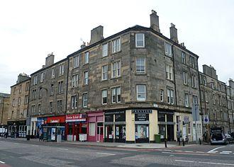 Dalry, Edinburgh - Image: Dalry Road, Edinburgh