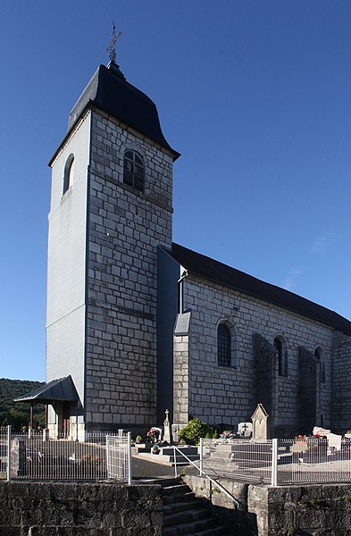 Église de Dammartin-les-Templiers (Doubs).