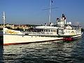 Dampfschiff Stadt Rapperswil - Bürkliplatz 2012-07-26 19-25-28 (P7000).JPG