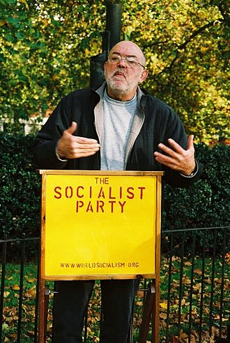 Socialist Party of Great Britain - Arguing against capitalism, Speakers' Corner, October 31, 2004