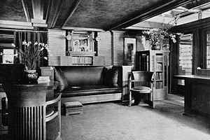 Darwin D. Martin House - Image: Darwin D. Martin House Living Room N