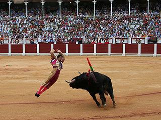 El Fandi Spanish bullfighter