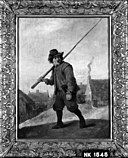 David Teniers - Man met stok - NK1545 - Cultural Heritage Agency of the Netherlands Art Collection.jpg