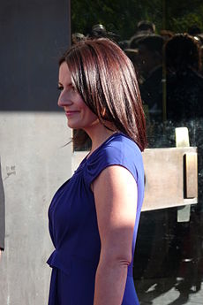 Davina McCall at the BAFTA's 26April2009.jpg