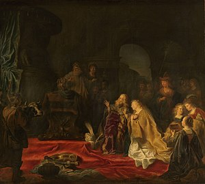The idolatry of King Solomon