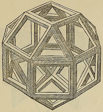 Rhombicuboctahedron - Image: De divina proportione Vigintisex Basium Planum Vacuum