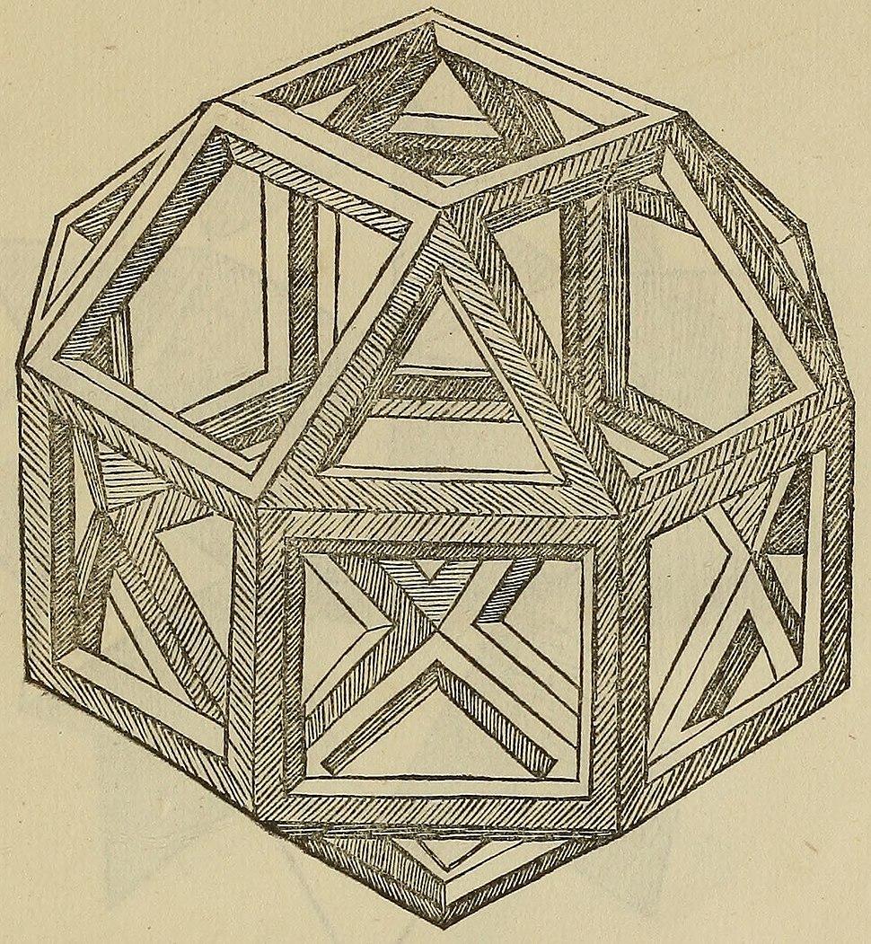De divina proportione - Vigintisex Basium Planum Vacuum