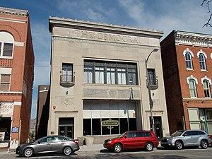 Democrat Building - Image: Democrat Building Davenport Iowa