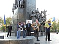 Demonstration in support of Ukrainian language bill in Kharkiv 2019-04-24 (02).jpg