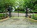 Den Andel - hek bij begraafplaats hervormde kerk van Den Andel.jpg