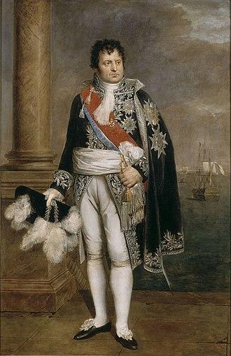 Denis Decrès - Decrès depicted in an 1801 portrait by René Théodore Berthon