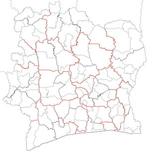 Departments of Côte d'Ivoire locator map blank.jpg