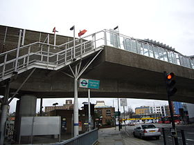 Image illustrative de l'article Deptford Bridge (DLR)