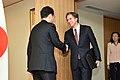 Deputy Secretary Blinken Is Greeted by Japanese Foreign Minister Kishida Before Their Meeting in Tokyo (25899698814).jpg