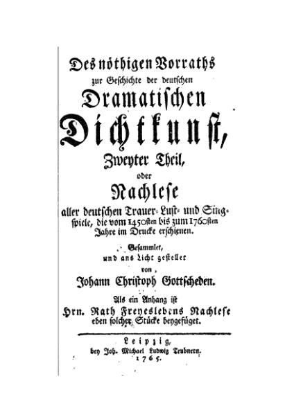 File:Des noethigen Vorraths zur Geschichte der deutschen Dramatischen Dichtkunst.djvu