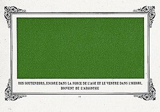 Album primo-avrilesque - Image: Des souteneurs boivent de l'absinthe