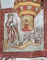 Detail uit de legende van de Heilige Genoveva van Parijs in de zuidelijke transeptarm van de Sint-Genovevakerk van Zepperen - 374962 - onroerenderfgoed.jpg