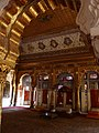 Details of gold filigree on the ceiling, inner chamber, Mehrangarh Fort Palace.jpg