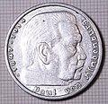 Deutsches Reich 5 RM 1936 - Revers.jpg