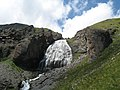 Devichiy kosy waterfall. July 2007. - Водопад Девичьи косы. Июль 2007. - panoramio.jpg