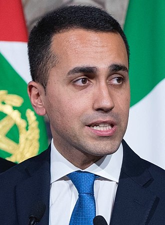 Next Italian general election - Image: Di Maio 2018 (cropped)