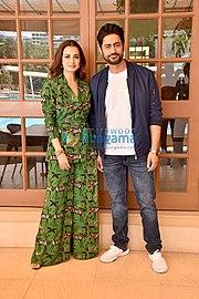 Raina and wife mohit his Mohit Raina