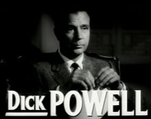 Dick Powell en el tràiler The Bad and the Beautiful (1952)