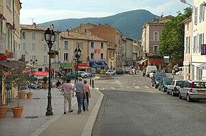 Dieulefit - The centre of Dieulefit