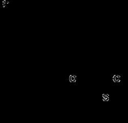 Strukturformel von Difethialon