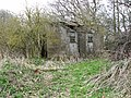 Dilapidated camp site building - geograph.org.uk - 1769892.jpg