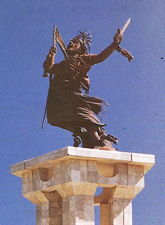 Indonesian occupation of East Timor - The integration monument in Dili was donated by the Indonesian government to represent emancipation from colonialism