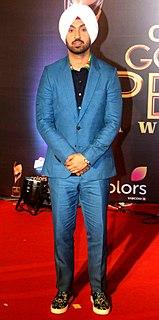 Diljit Dosanjh Indian actor, singer, television presenter and social media celebrity
