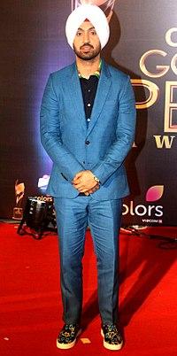Diljit Dosanjh at Colors Golden Petal Awards.jpg