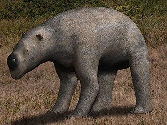 Diprotodon - Diprotodon in environment