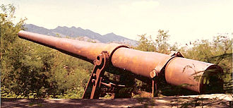Fort Wint - Buffington-Crozier carriage of the gun shown above.