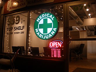 Medical cannabis - Medical marijuana dispensary