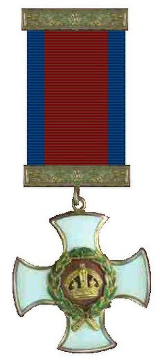 Cedric Delves - Image: Distinguished Service Order correct