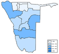 Distribution of Nama (Damara) in Namibia.png