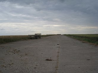 RAF Cottam - Disused runway