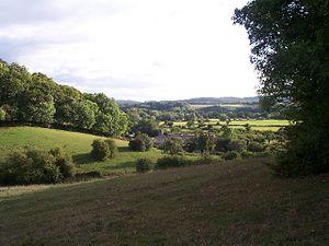 Doddenham - Image: Doddenham Hall Farm