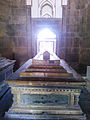 Dome of Isa khan's wife inside Isa Khan Niyazi's tomb in Delhi.jpg