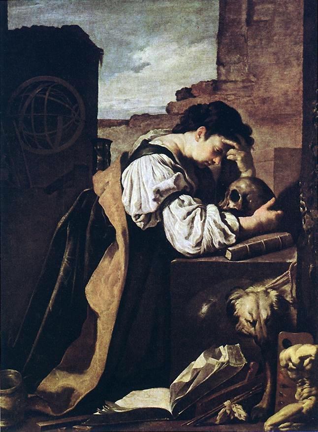 Domenico Feti - Melancholy (Version 1)